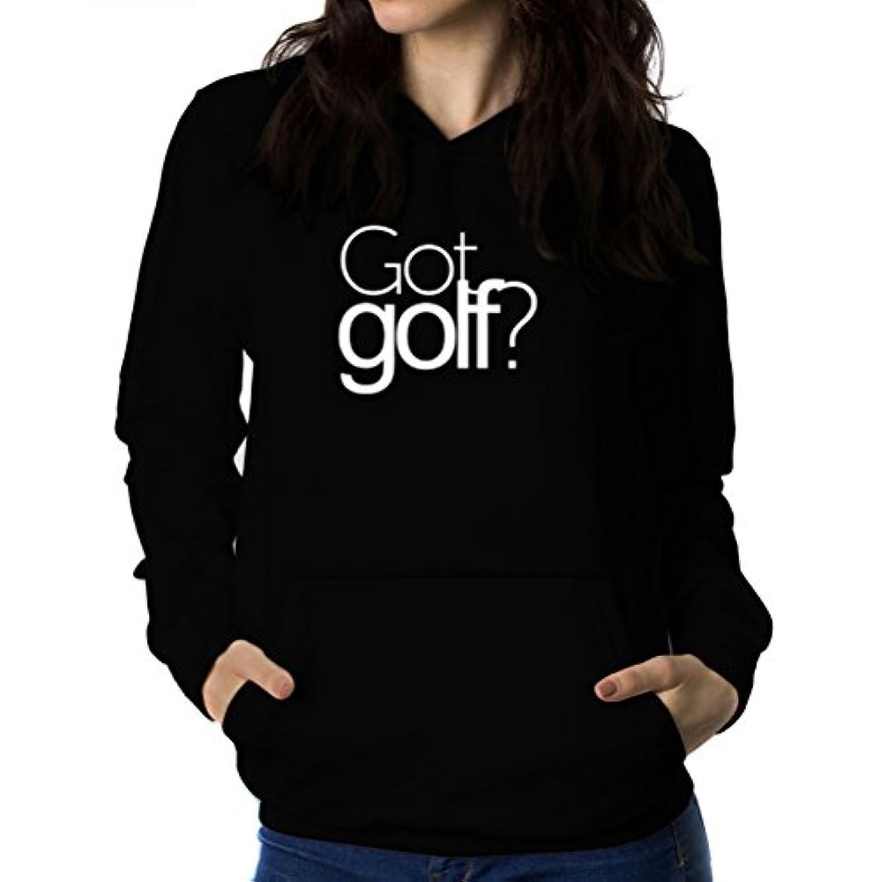 トンネル違反エクスタシーGot Golf? 女性 フーディー