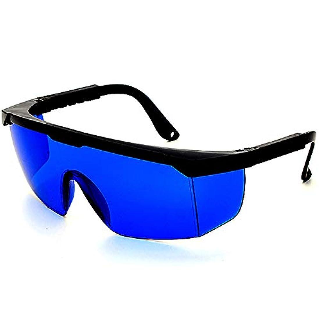 練習した自動的に狂ったレーザー保護メガネIPL美容機器メガネ、レーザーメガネ - 2組のパルス光保護メガネ。