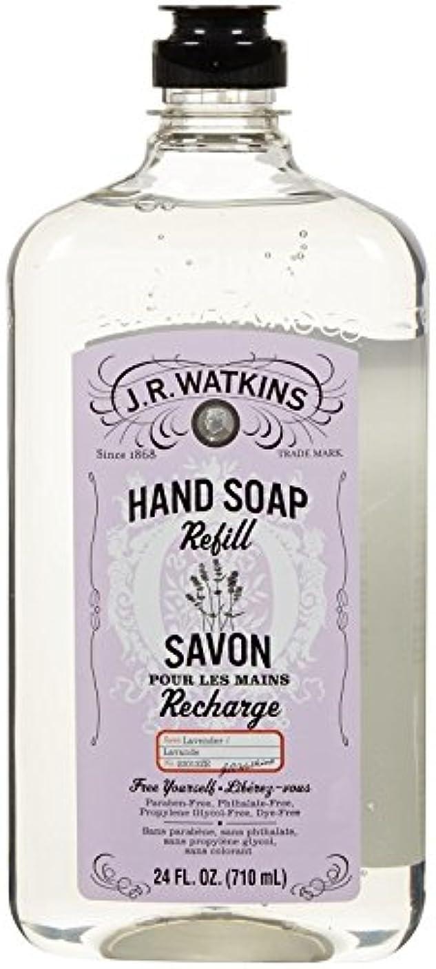 まもなくガイド化学薬品J.R. Watkins Liquid Hand Soap - Refill - Lavender - 24 fl oz