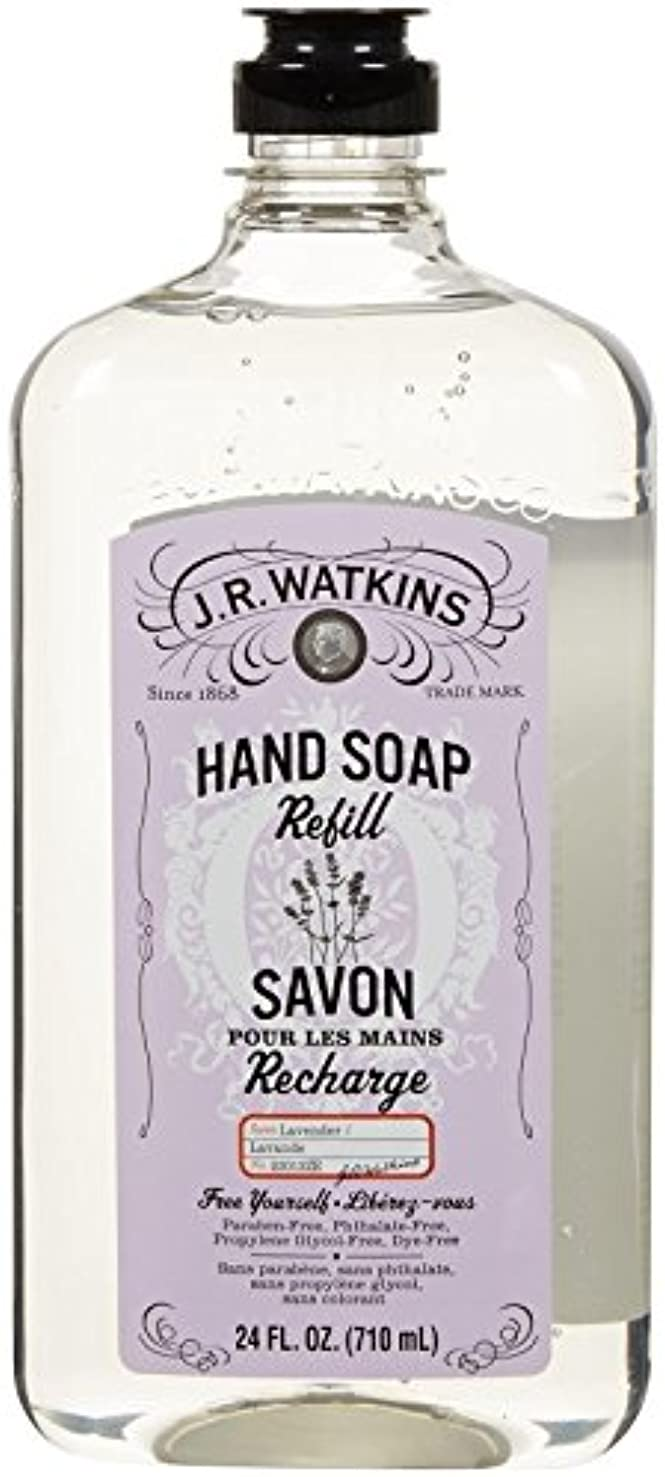 親密なパイント相手J.R. Watkins Liquid Hand Soap - Refill - Lavender - 24 fl oz