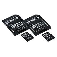 Sony HDR - az1アクションカムミニビデオカメラメモリカード2x 32GB microSDHCメモリカードSDアダプタ付き(2パック)