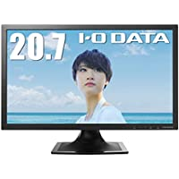 I-O DATA モニター 20.7型 テレワーク向け 非光沢 HDMI×1 アナログRGB×1 ス…