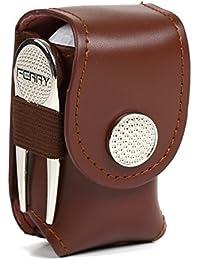 (フェリー) FERRY ゴルフボール レザーケース ティー&グリーンフォーク セット 2カラー