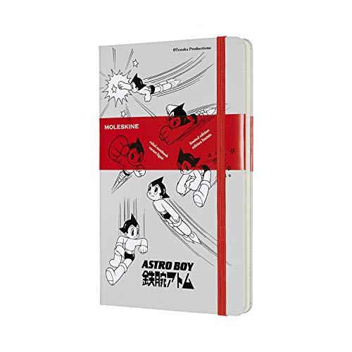 モレスキン ノート 限定版 ノートブック 鉄腕アトム 罫線 ラージ ライトグレー LEABQP060G26