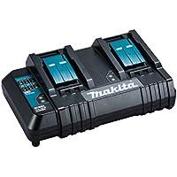 マキタ 2口充電器DC18SH 18V/14.4V対応 6Ah×2本同時フル充電130分