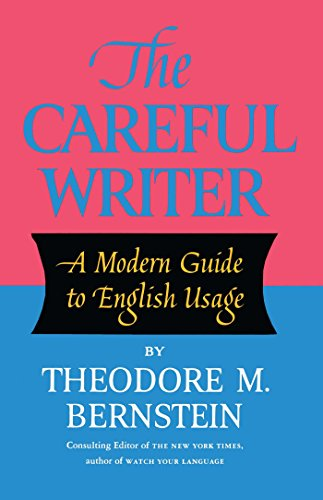 Download The Careful Writer 0684826321