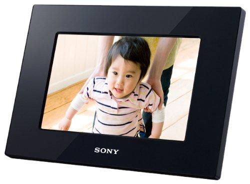 RoomClip商品情報 - ソニー SONY デジタルフォトフレーム S-Frame D710 7.0型 内蔵メモリー128MB ブラック DPF-D710/B