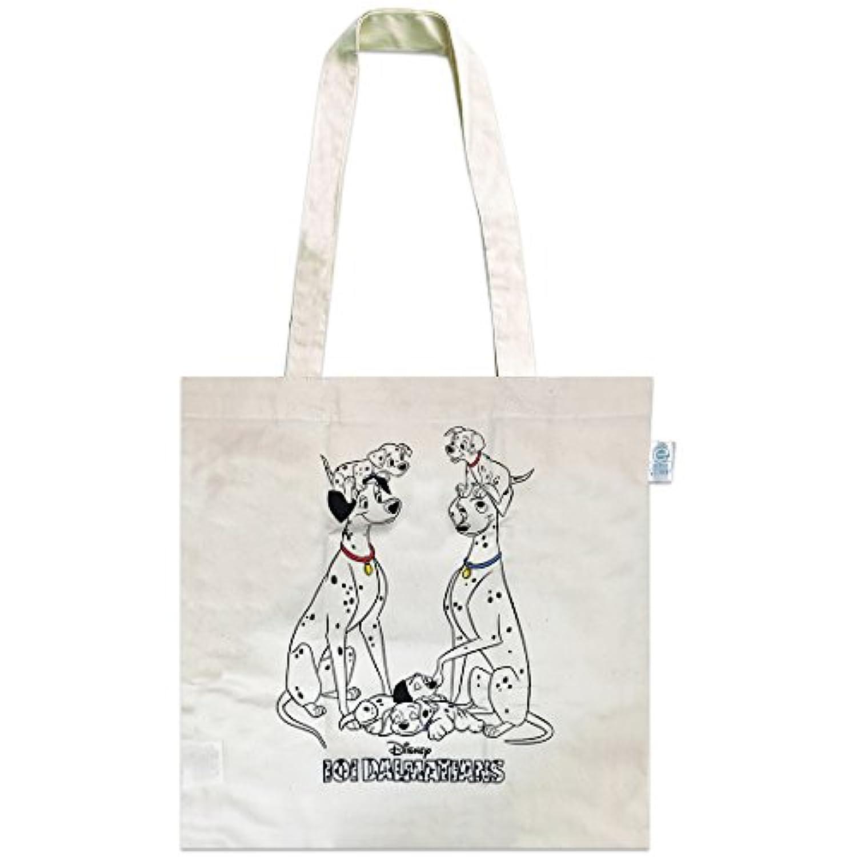 ディズニー エコマーク付コットンバッグ 101匹わんちゃん ECDS831