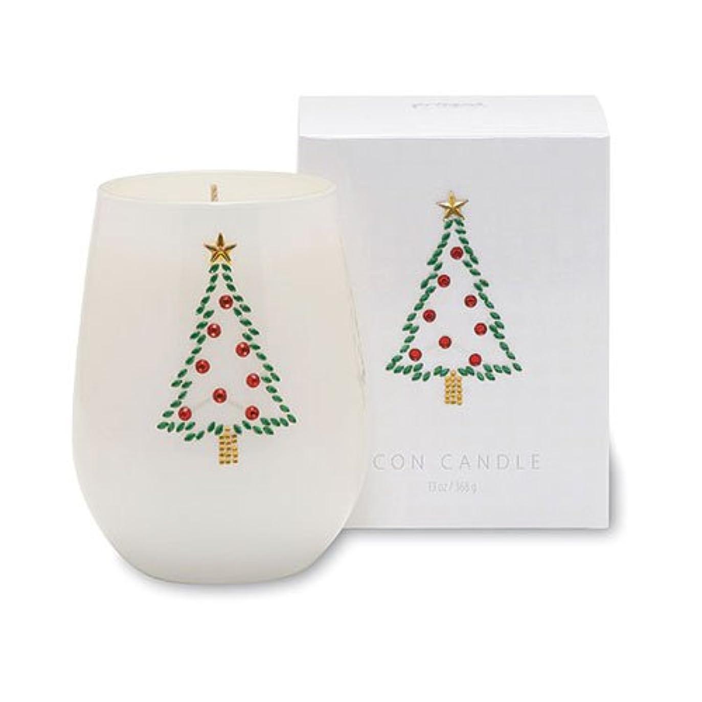 誰が暗くする復活クリスマスアイコンキャンドル/クリスマスツリー オレンジピールとドライフルーツの香り キャンドル