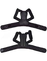 Saikogoods 姿勢矯正側弯症ザトウクジラ補正ベルト調節可能な快適さ目に見えない男性用女性大人U型
