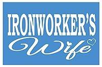 Iron Worker妻k3868インチステッカー溶接機デカール