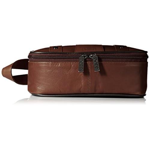 Dopp 04924 Veneto Top Zip Travel Kit, Brown