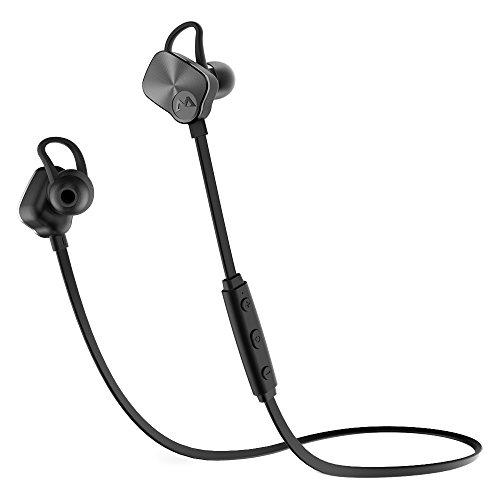 Mostar Onsei Bluetoothイヤホン スポーツイヤホン ワイヤレスイヤホン (黒)