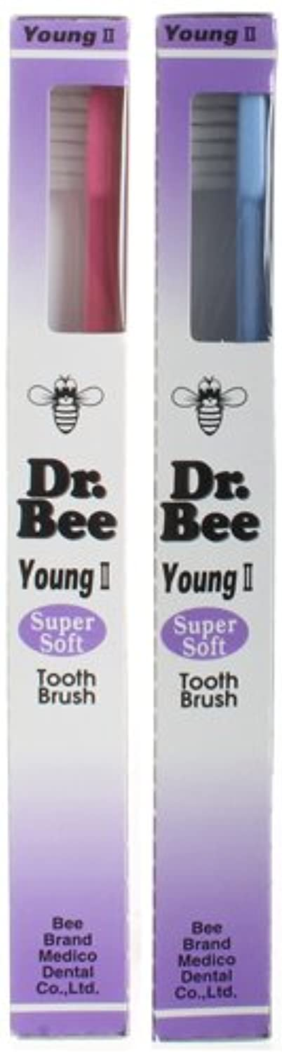 BeeBrand Dr.BEE 歯ブラシ ヤングIIスーパーソフト 2本セット