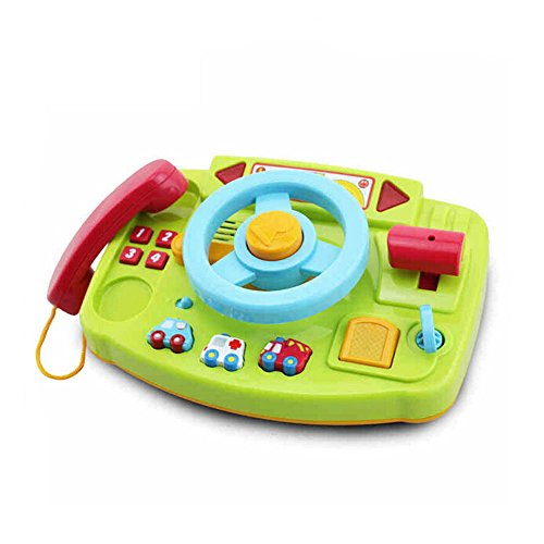 Wishtime 他社とは違う GO GO おでかけハンドル メロディ 光る 音 おもちゃ 電話 手遊びいっぱい 【お誕生日プレゼント】