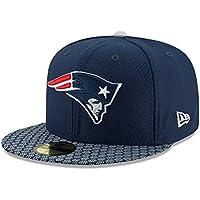 ニューエラ (New Era) 59フィフティ キャップ - NFL サイドライン 2017 ニューイングランド?ペイトリオッツ (New England Patriots)