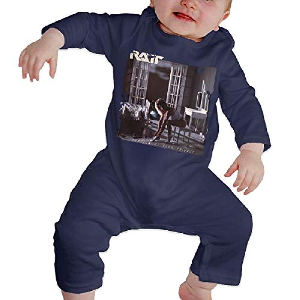 死ぬジムエゴマニアBaby's、Kid's、Infant Utility、Cotton ジャンプスーツ、ロンパース、衣類、ボディスーツユニセックスベビークローラーNavy 2T