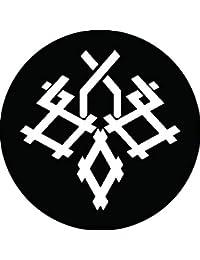 家紋シール 井桁桐紋 布タイプ 直径40mm 6枚セット NS4-0076