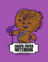 Graph Paper Notebook: Star Wars Gifts Series Movies Soft Glossy Quad Ruled Graph Paper Notebook The Last Jedi with Grid Lined Paper for Taking Notes Writing Workbook for Teens and Children Students School Kids Inexpensive Gift For Boys and Girls