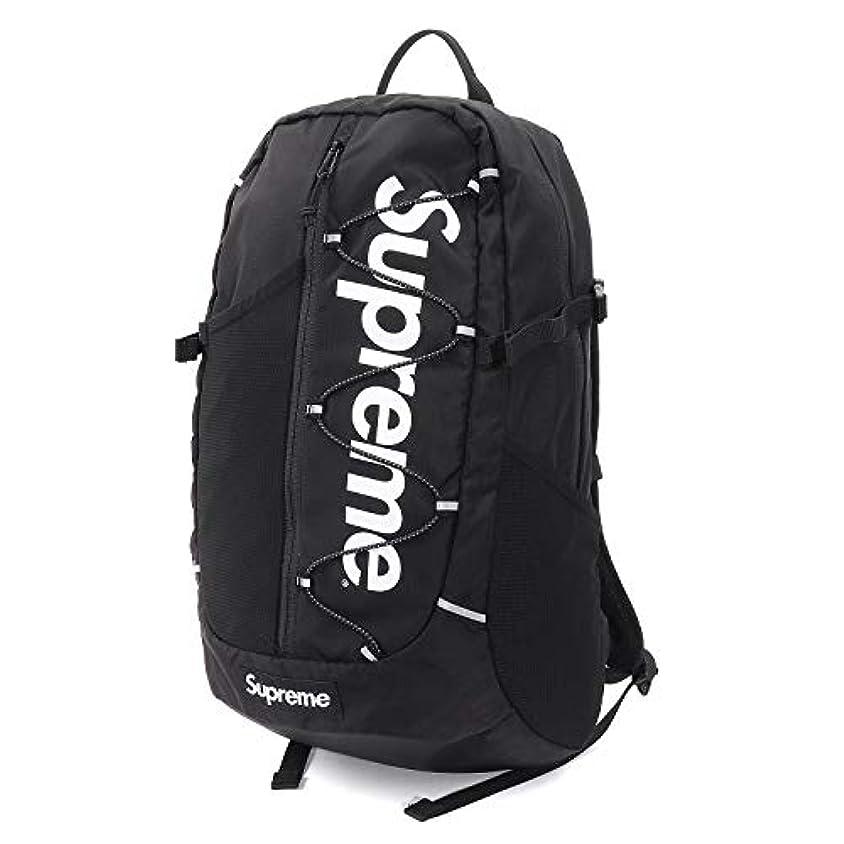 反逆チップジョグSupreme/シュプリーム 210D Cordura Ripstop Nylon 20L Backpack/コーデュラ リップストップ ナイロン バックパック Black/ブラック 2017SS 国内正規品