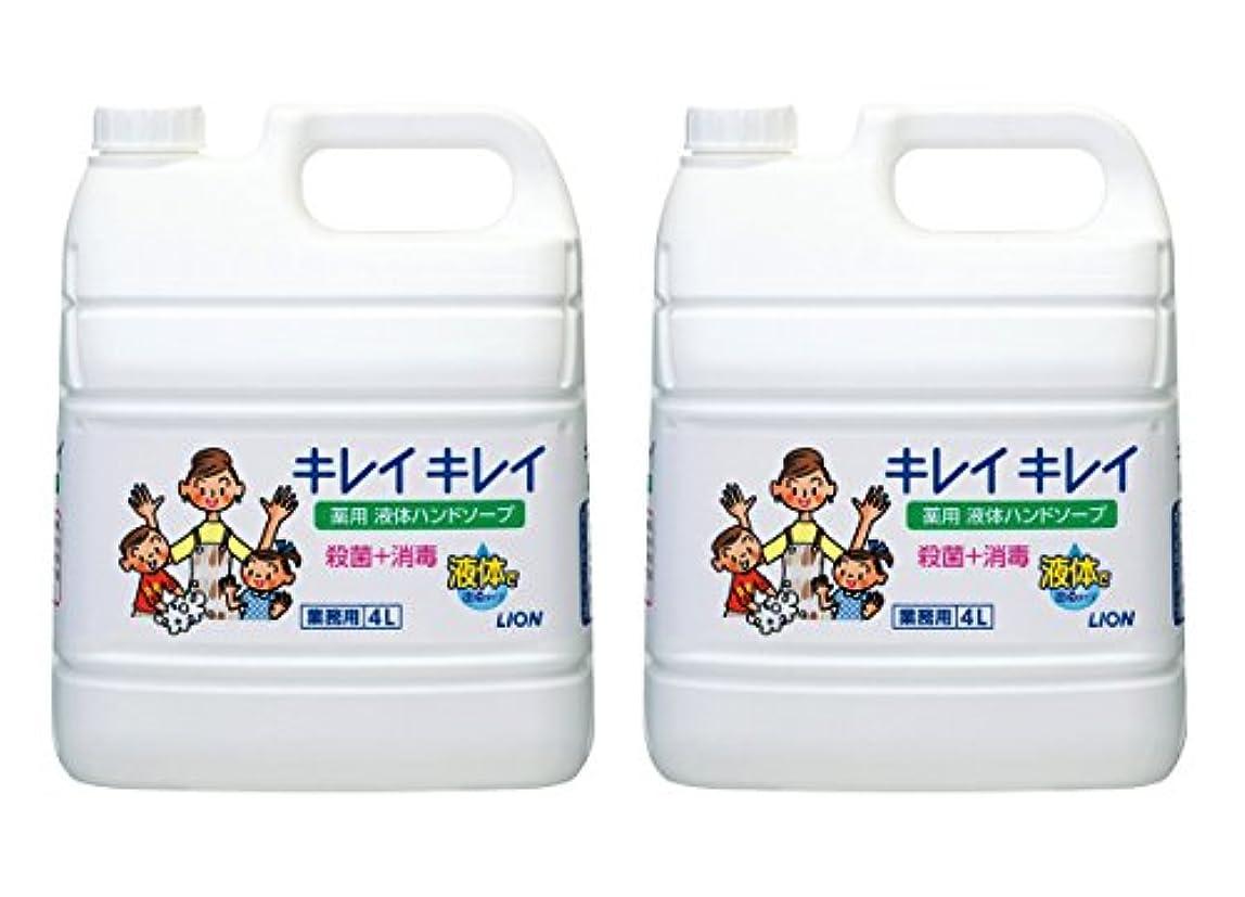 バースト第九流行【大容量】キレイキレイ 薬用ハンドソープ 4L×2個
