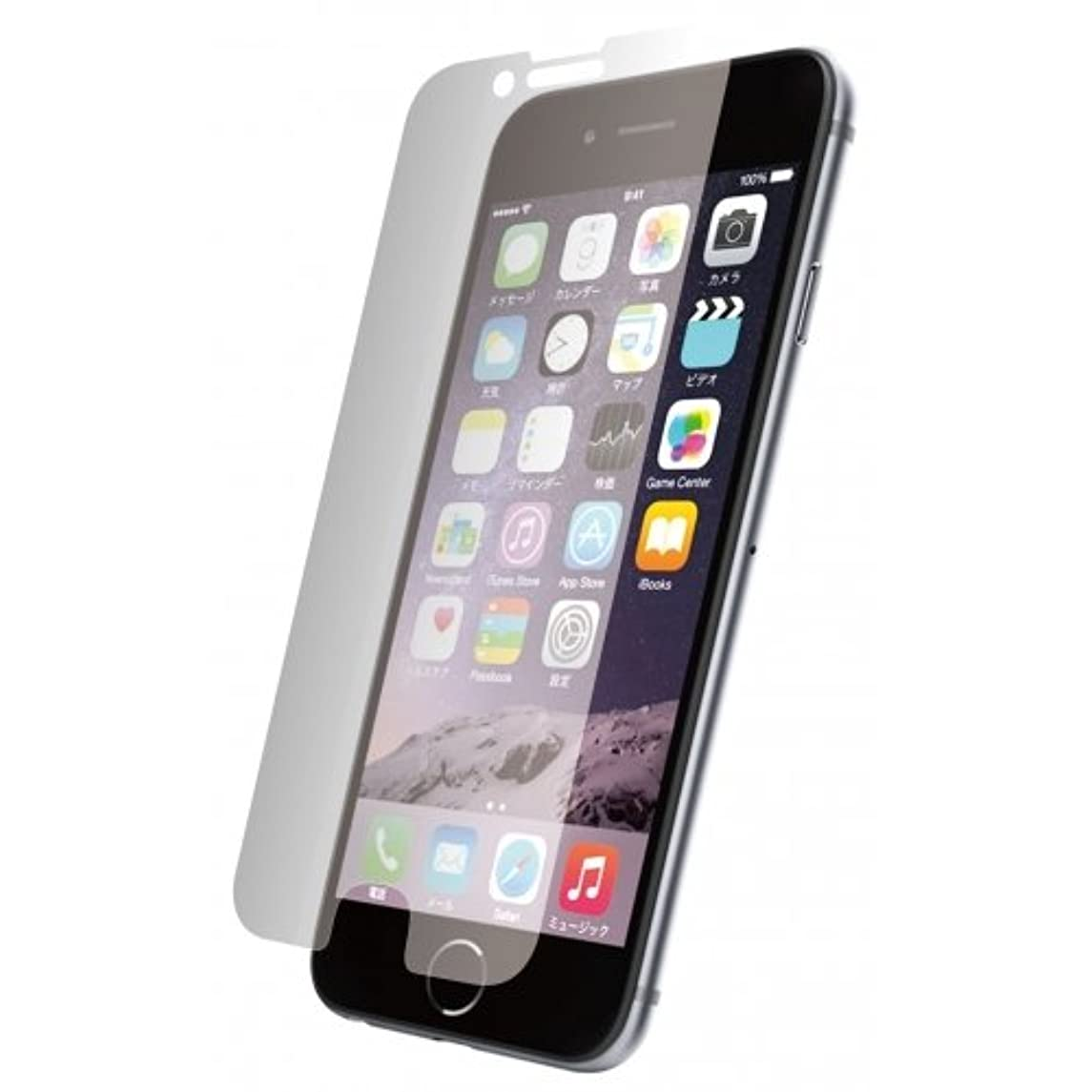 タクシー掻く味方グルマンディーズ iPhone6Plus対応 ガラスシールド プライバシー IP6L-22
