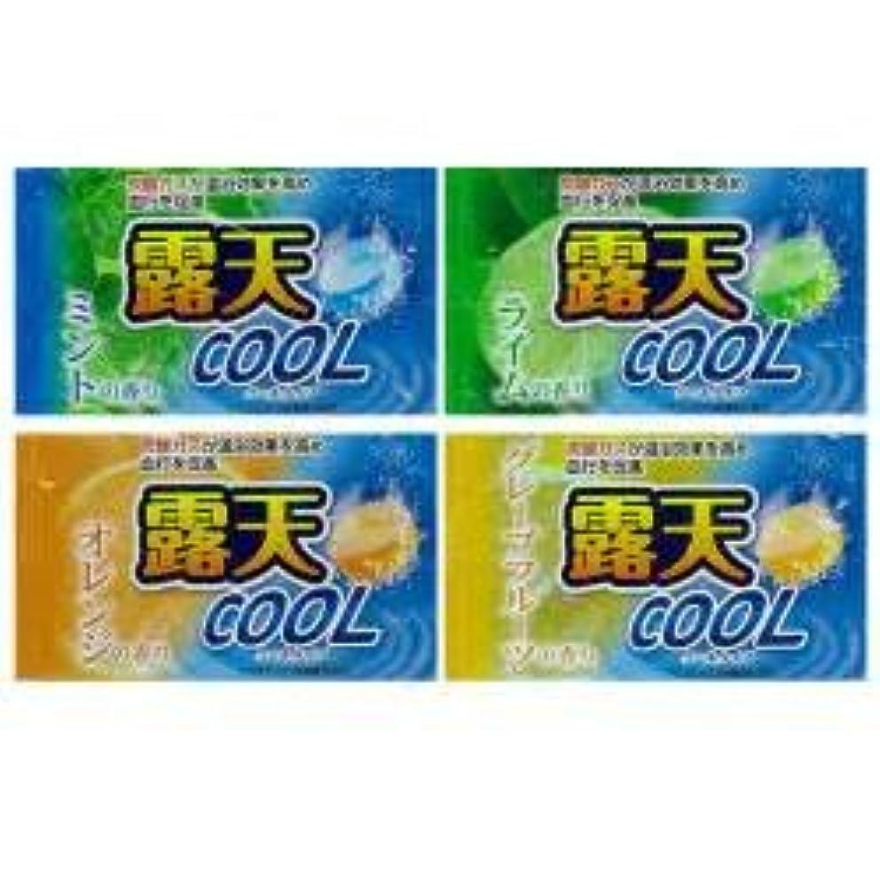 出血合成過敏な薬用発泡入浴剤 露天クール 4種×3 12個
