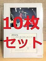 10枚セット 安室奈美恵 Final Tour 2018Finally Amazon限定 特典 卓上カレンダー 185