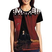 DRAKEA Eminem The Eminem Show 婦人向け Crewneck 半袖s Shirt ブラック