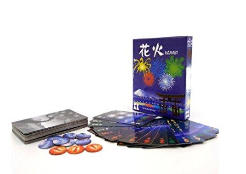 英語HanabiボードゲームHanabi with英語ルールPlayingゲームカードゲームボードゲーム