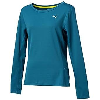 (プーマ)PUMA ランニング 長袖Tシャツ 513250 [レディース] 04 ブルーコーラル L