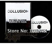 手品DVD Collusion by Peter Duffie カードレクチャー DVD講義 講義 マジック パーティ 講座 講義 レッスン 奇術
