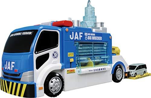 トミカ 空気はスゴイぞ!整備工場へ運ぼう! JAFビッグレッカー車