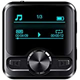Joick Voice Recorder Bluetooth Sport HiFi MP3 Player Sound Recording Pen IPX6 FM Radio Repeater 1.2 inch Display,8GB