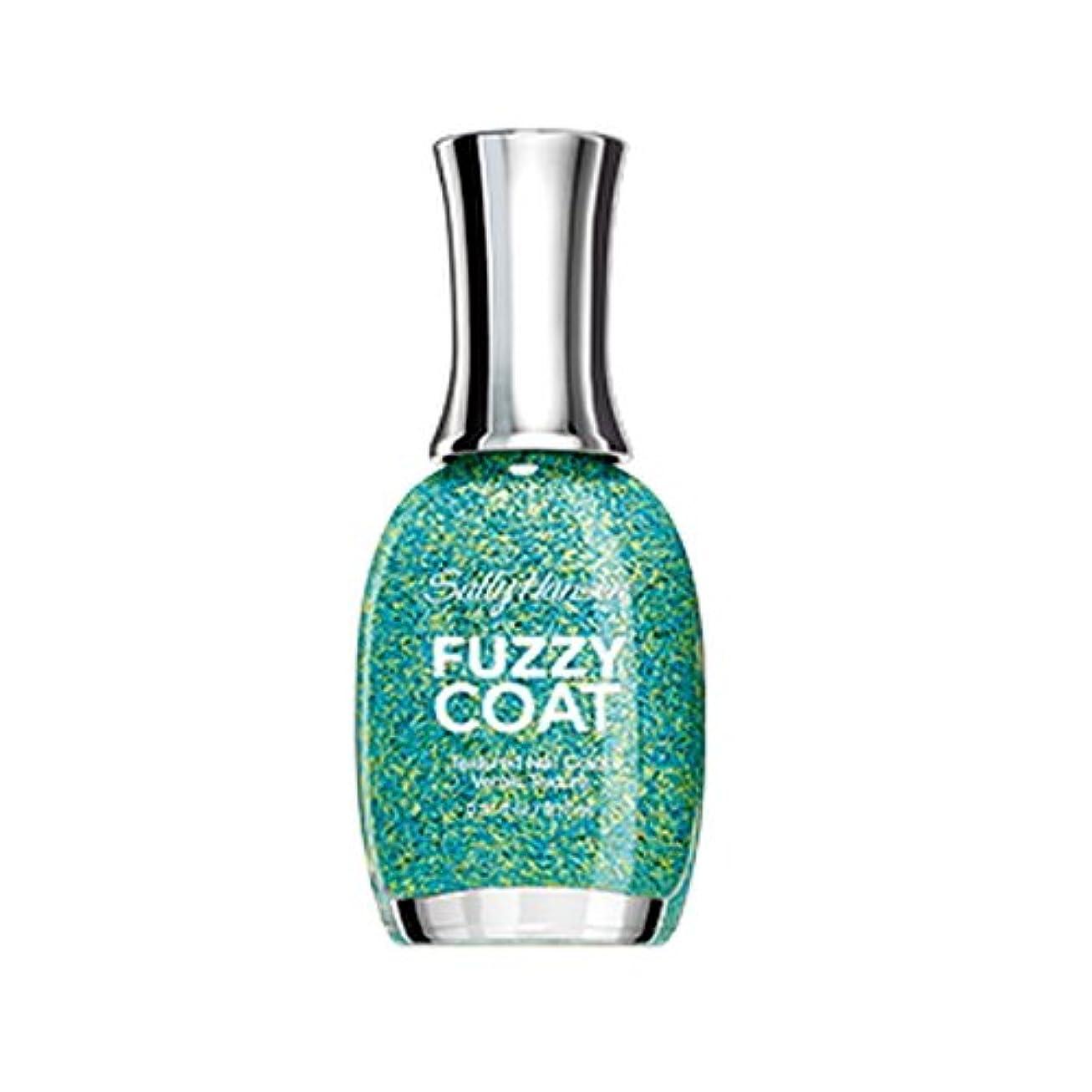 人質しっかりずんぐりしたSALLY HANSEN Fuzzy Coat Special Effect Textured Nail Color - Fuzz-Sea (並行輸入品)