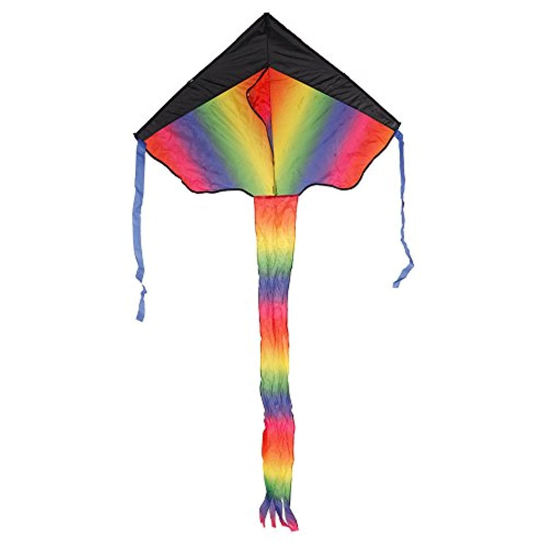 レインボーカラフルな三角形Kite best Delta Kite for Kids and大人