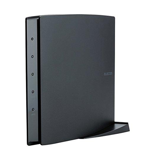 ELECOM WiFi 無線LANルーター 親機 11ac/n/a/g/b 1300+450Mbps 利用推奨6人/4LDK以上/3階建 iPhone6s/6sPLUS対応 WRC-F1750ACGH