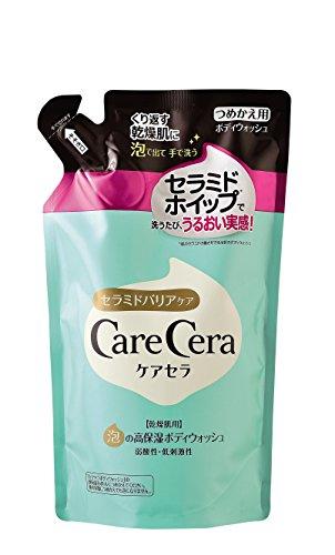CareCera(ケアセラ) 泡の高保湿 ボディウォッシュ (つめかえ用) 350mL