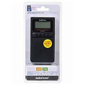 オーム電機 録音機能付ラジオ RAD-F830Z-K