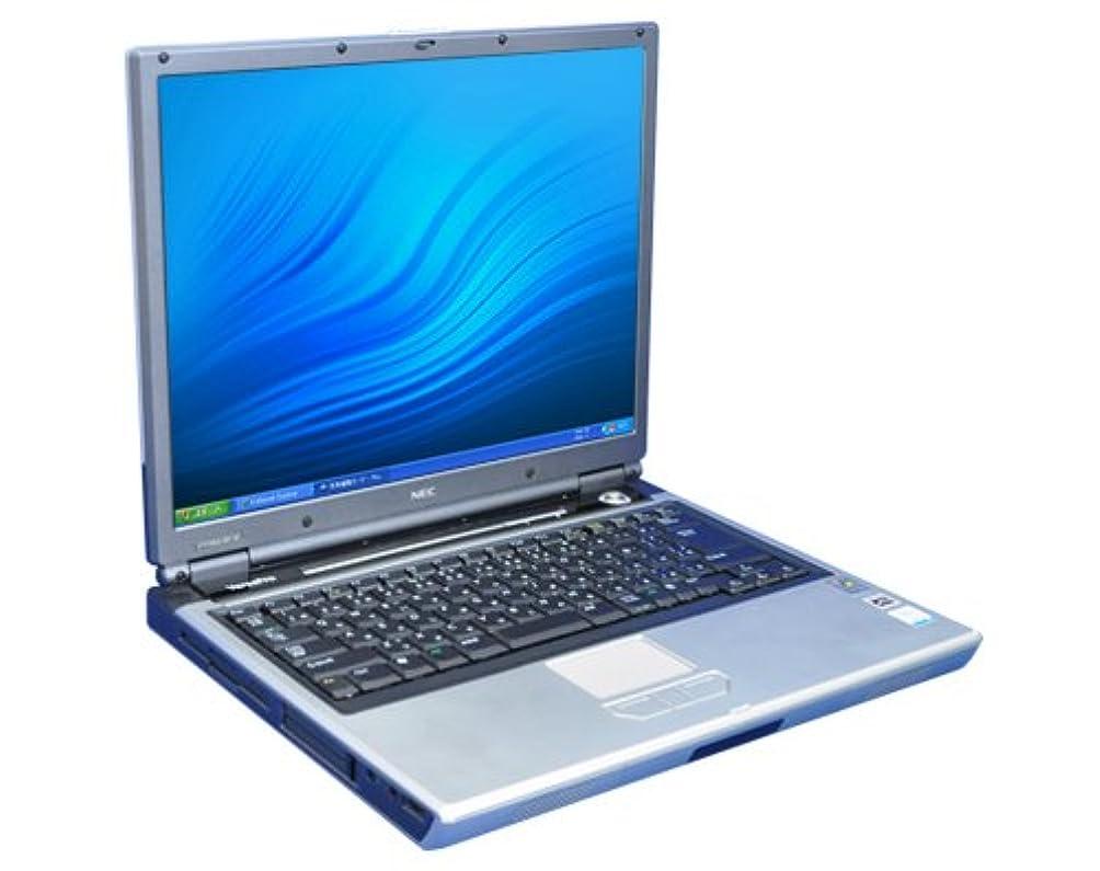 水分傑作皿【中古】NEC VersaPro VY14M/RF-W (CeleronM-1.4 GHz/512MB/40GB/15インチ/DVDコンボ/XPPro(K13)/KingsoftOffice2010付属/3ヶ月保証)