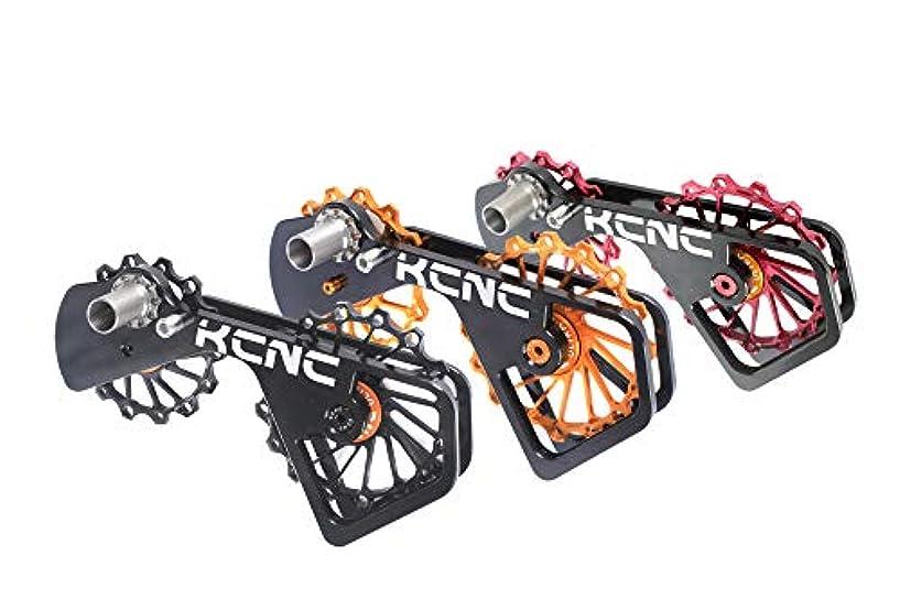 合理的保証霧KCNC (ケーシーエヌシー) 16T ディレイラー プーリー 7075アルミ合金 ビッグプーリー 自転車プーリー シマノ デュラエース 6700/6800/7800/7900/7970/9000/9070 対応 [並行輸入品]