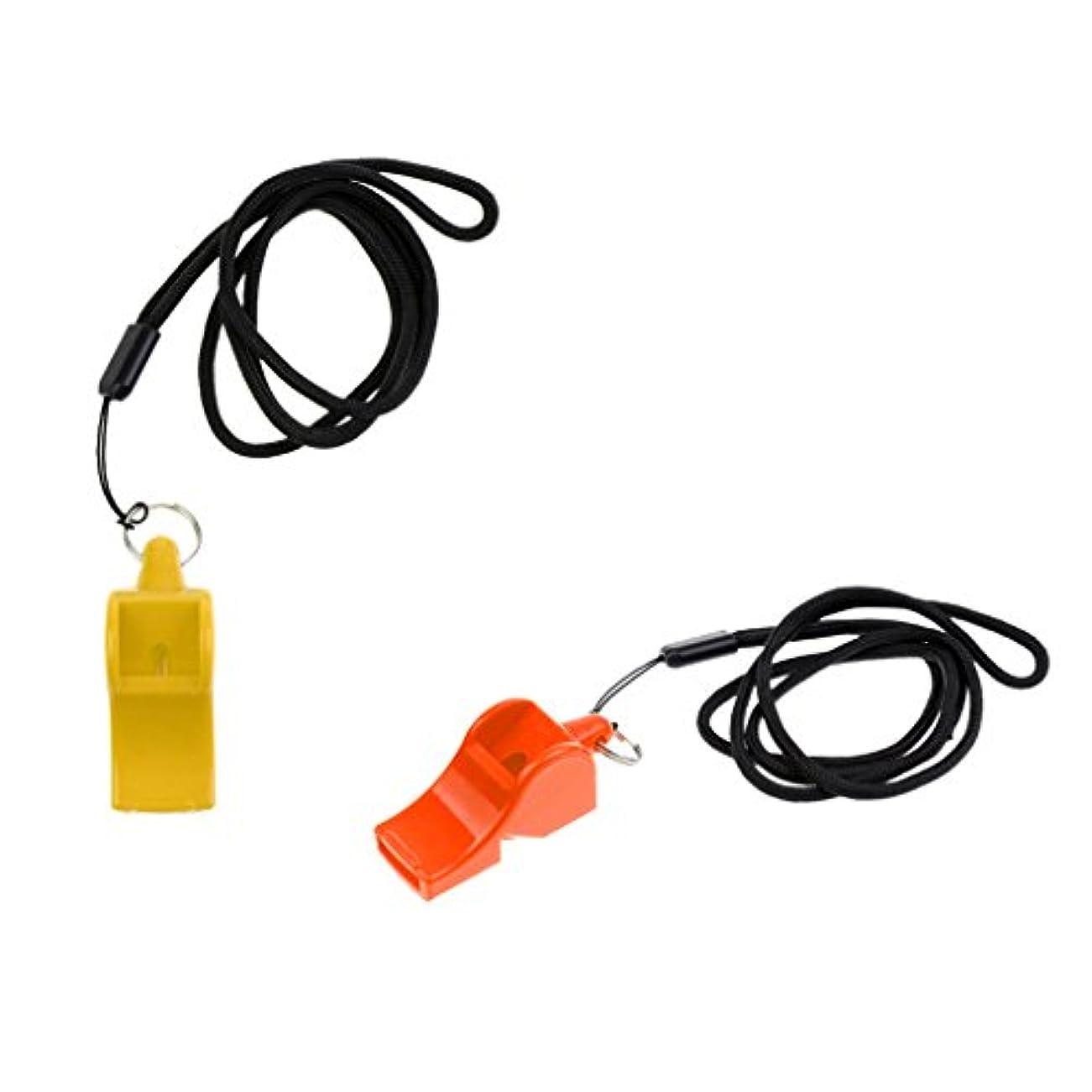 待つフロンティア無数のSONONIA 2個 サバイバル 屋外 緊急用 防災 ストラップ付き ホイッスル 呼子笛