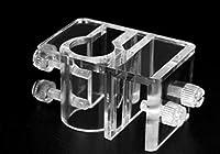 [ルボナリエ] ホース 固定 水槽 パイプ ホルダー エアポンプ セット 水槽パイプ固定 水槽ホース ホースホルダー パイプホルダー 水槽吸盤 アクアリウム ホースクリップ メダカ ホース固定 透明 メンテナンスホルダー 固定器 4個セット 取り付け具 用 配管