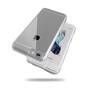 iPhone 6s / 6 衝撃吸収 クリア ケース 透明 ハイブリッド 硬度6H クリスタル カバー HYB-I6-CLR675