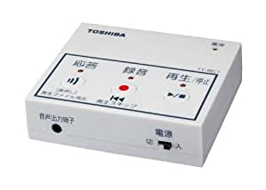 東芝 防犯用電話自動応答録音アダプター TY-REC1