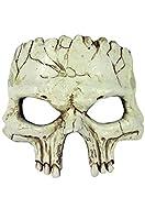 Forum Novelties Foam Cracked Skull Half Mask-Standard