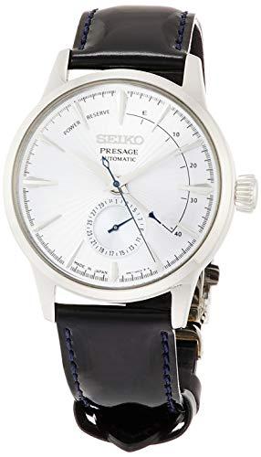 [セイコーウォッチ] 腕時計 プレザージュ アイスブルー文字盤 ボックス型ハードレックス シースルーバック SARY131 メンズ ブルー
