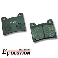 エボリューション(EVOLUTION)セミメタルブレーキパッド EV-236D FJ1200ABS FJ1200 V-Max ブイマックス