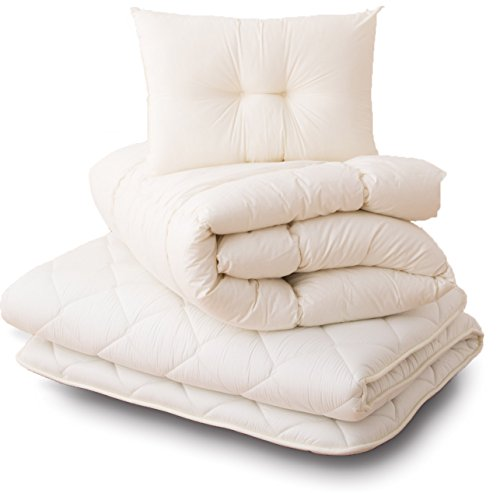 エムール 日本製 綿100% 布団セット シングル 3点セット...