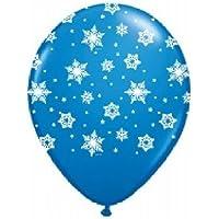loonballoonスノーフレークFrozenダークブルーSnow Flake ( 6 ) 11